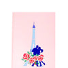 Love in Paris - WOW 3D Pop Up Greeting Card