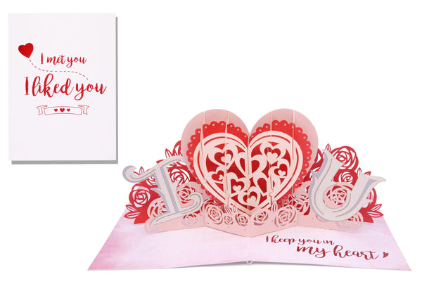 You are the only one - 3D Pop Up Card