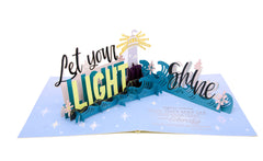 Let Your Light Shine - WOW 3D Pop Up Greeting Card