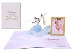 You are my world - 3D Pop Up Card