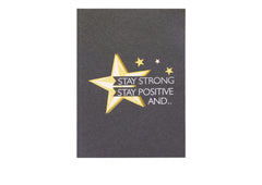 Believe in yourself - 3D Pop Up Card
