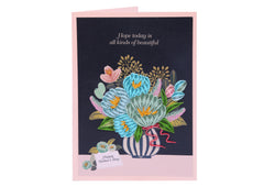 Tulip Flower - WOW Quilling Card