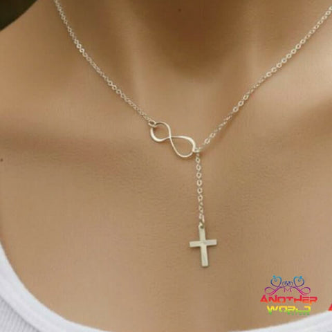 pendant cross infinity buy necklace get product free