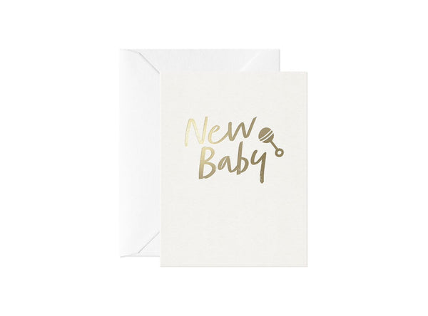 New Baby, Happy Thoughts Card