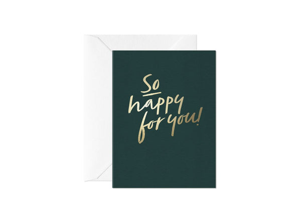 So Happy For You, Happy Thoughts Card