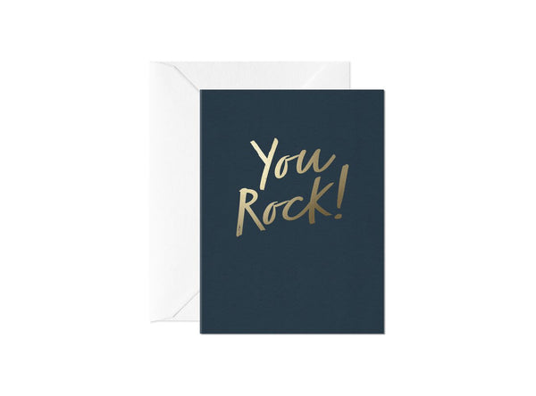 You Rock, Happy Thoughts Card