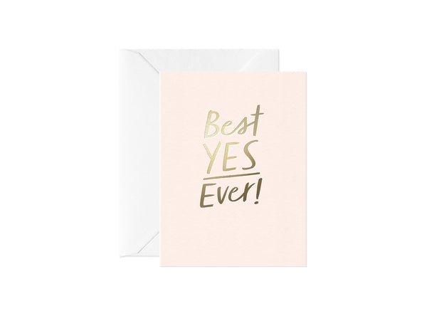 Best Yes Ever, Happy Thoughts Card