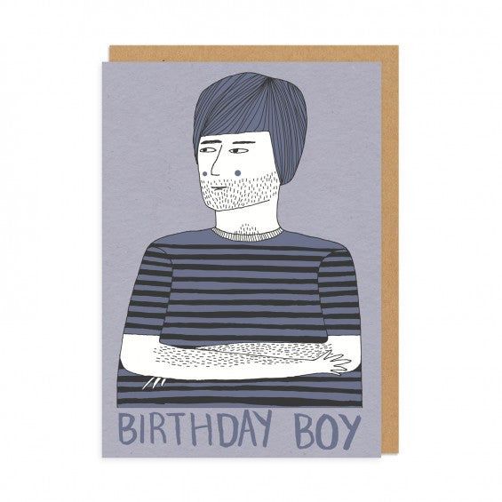 Birthday Boy Art Card