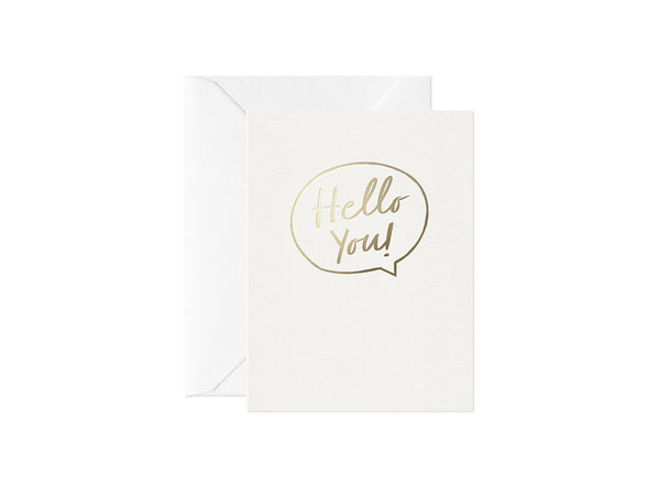 Hello You, Happy Thoughts Card