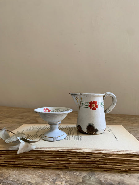 Dolls House Jug and Sugar Bowl