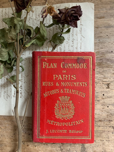 Vintage Paris Book