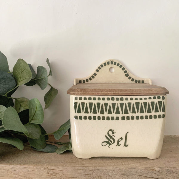 Vintage French Sel Box