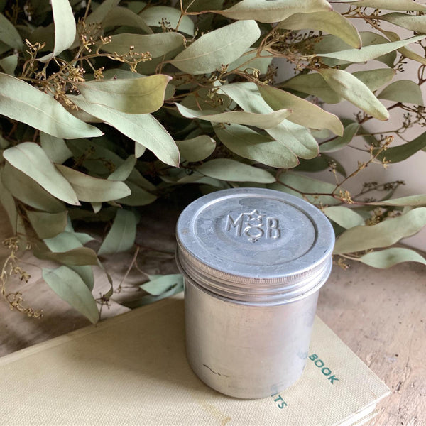 Vintage Pill Pot Candle in Wild Fig