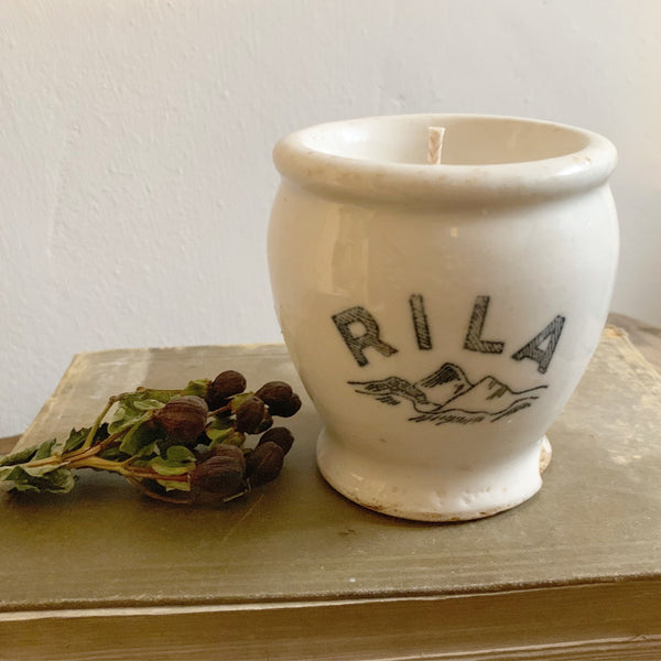 Victorian Rila Jar Candle in Black Tea & Jasmine