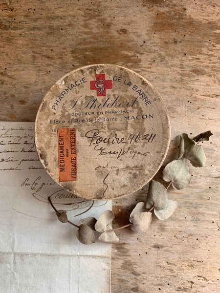 Vintage French Pharmacie De La Barre Box