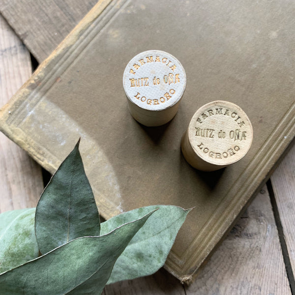 Vintage French Pharmacy Pill Boxes