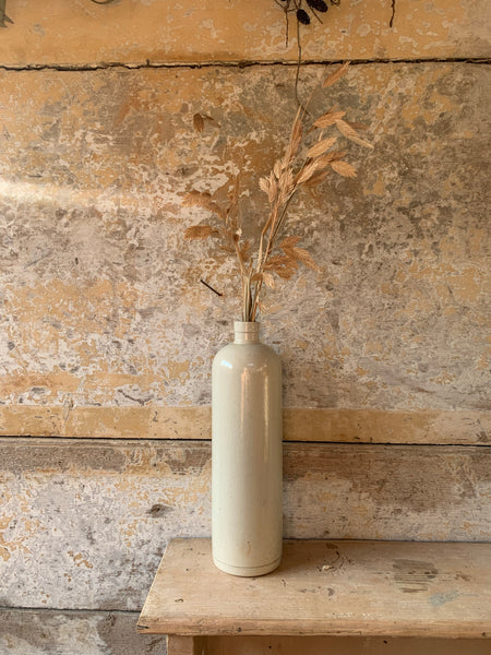 Tall Antique Stoneware Bottle