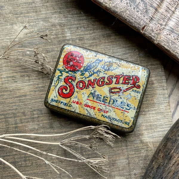 Vintage Songster Tin