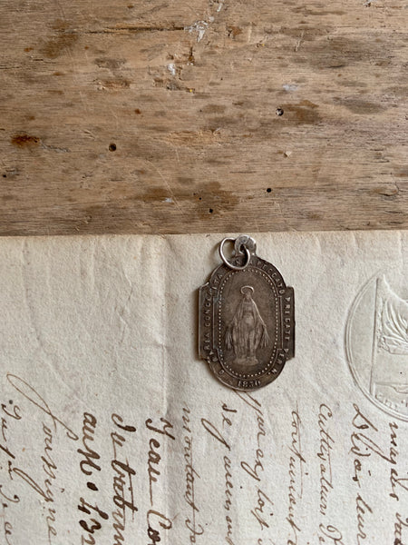 Small Religious Vintage Charm from 1830s