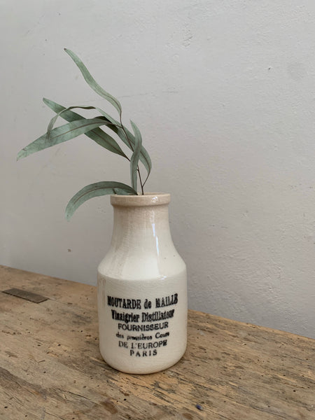 Vintage French Mustard Pot