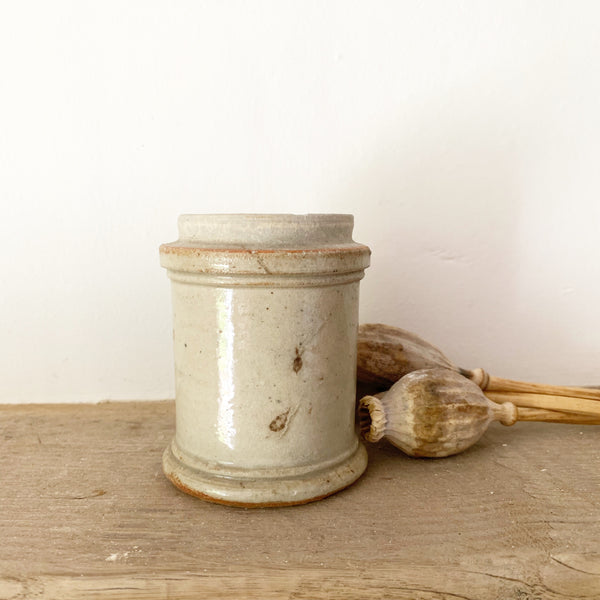Small French Stoneware Jar