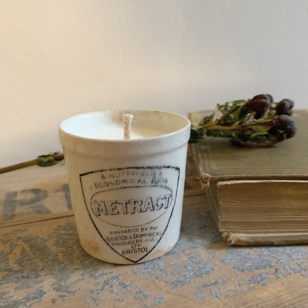 Vintage Metract Pot Candle in Earl Grey & Cucumber