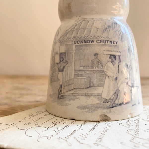 Antique Chutney Jar