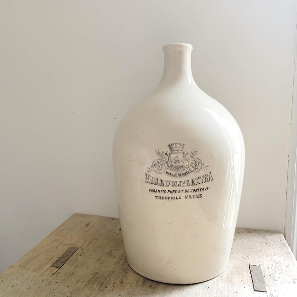 Rare French Olive Oil Bottle
