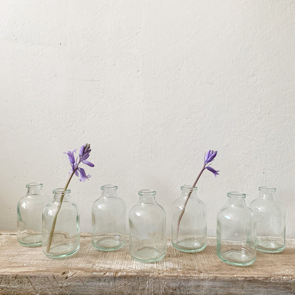 Glass Flower Bud Vases