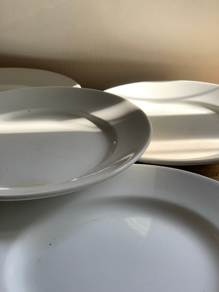 Vintage French Ironstone Plates