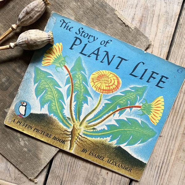 1960s Plant Life Puffin Picture Book