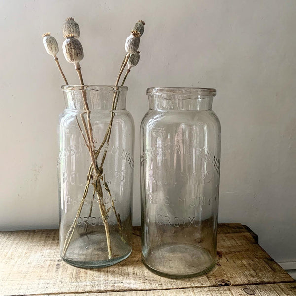 Vintage French Rollmops Large Bottles