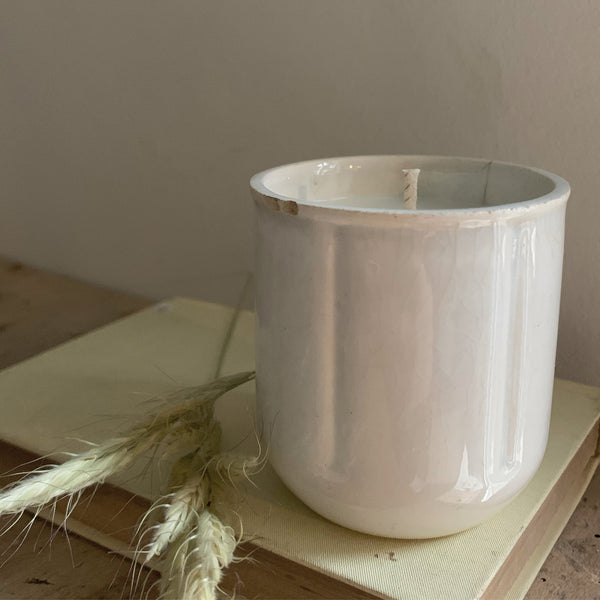 Rustic French Pot Candle in Seasalt & Woodsage