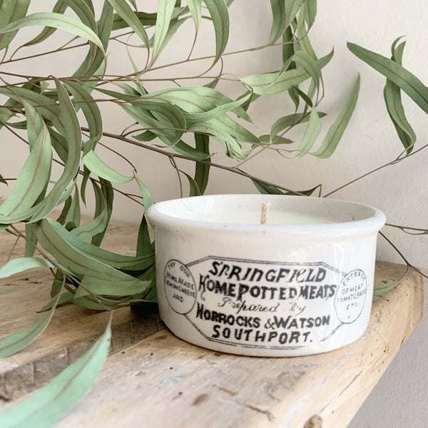 Springfield Vintage Candle in Wild Fig