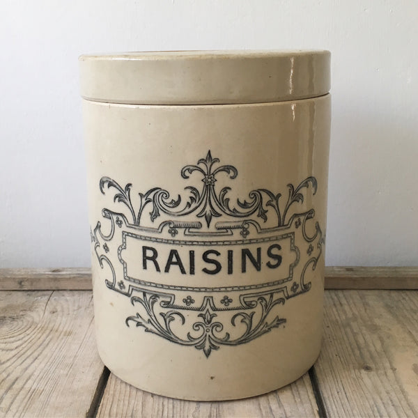 Lambeth Doulton Raisin Jar
