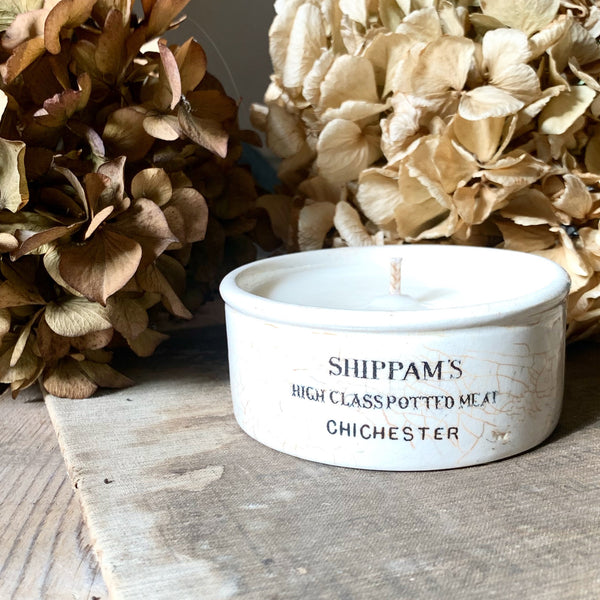 Shippams Potted Meats Candle in Wild Fig