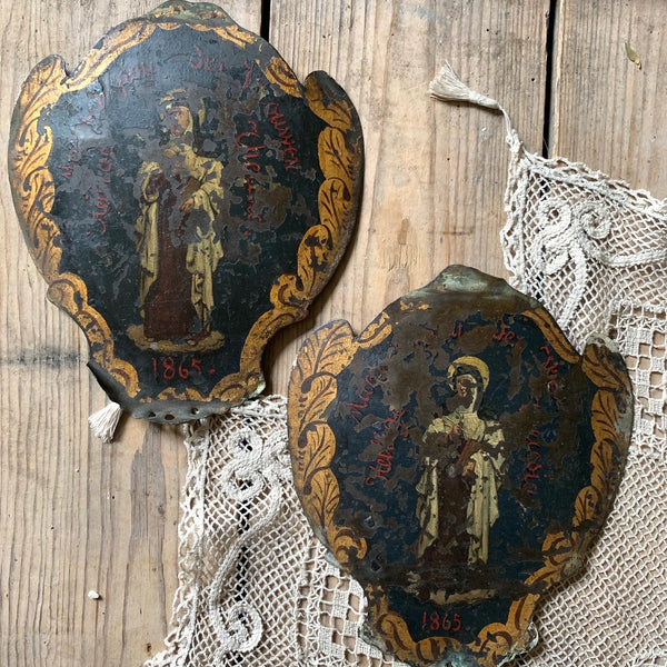 Vintage Religious Wall Plaques