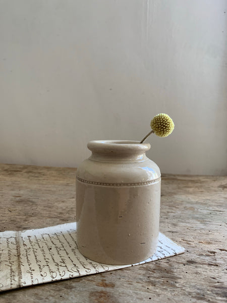 Caviar Stoneware Bottle