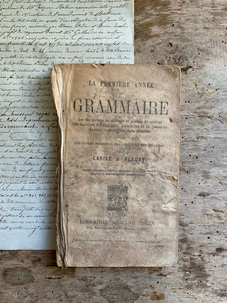 French Rustic Grammaire Book