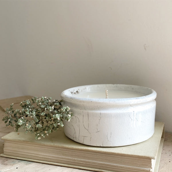 Vintage Paste Pot Candle in Wild Fig