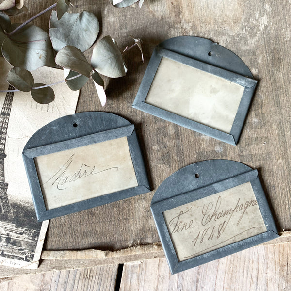 Vintage French Wine Tags