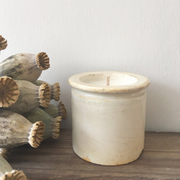 Rustic French Pot Candle in Earl Grey & Cucumber
