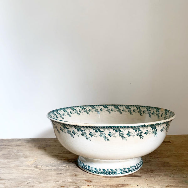 Enormous French Transferware Bowl