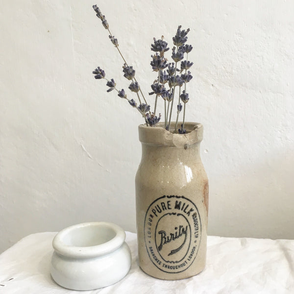 Antique Stoneware Milk Jar