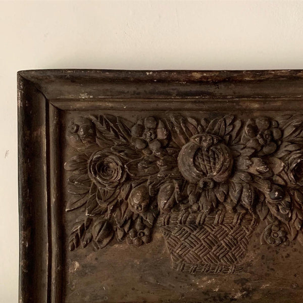 1860s Terracotta Wall Hanging