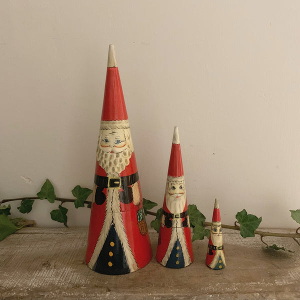 Vintage Father Christmas Russian Dolls