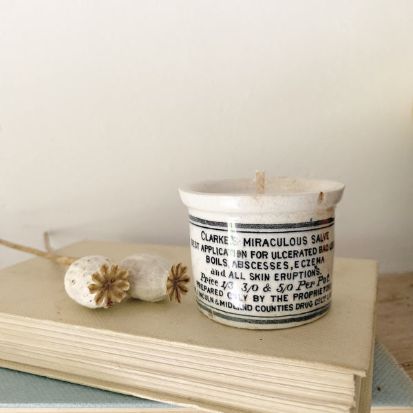 Clarke's Pot Candle in Wild Fig
