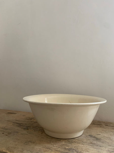 Large Vintage French Bowl