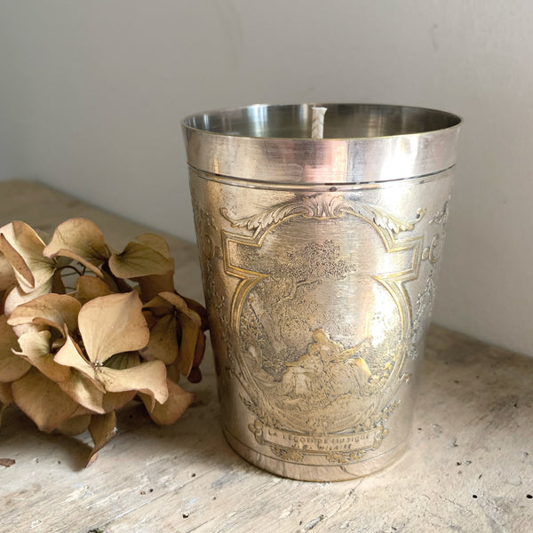 Rustic French Pot Candle in Wild Fig