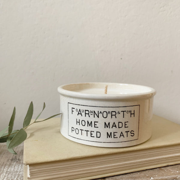 Vintage Farnorth Candle in Earl Grey & Cucumber